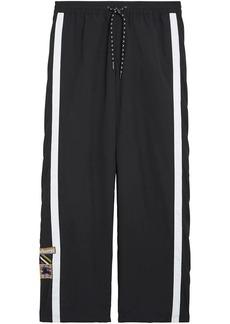 Burberry Sport Stripe Jersey Track Pants