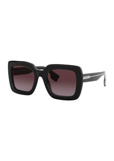 Burberry Square Acetate Sunglasses