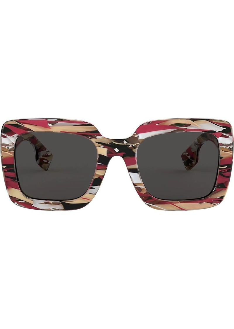 Burberry square oversized sunglasses