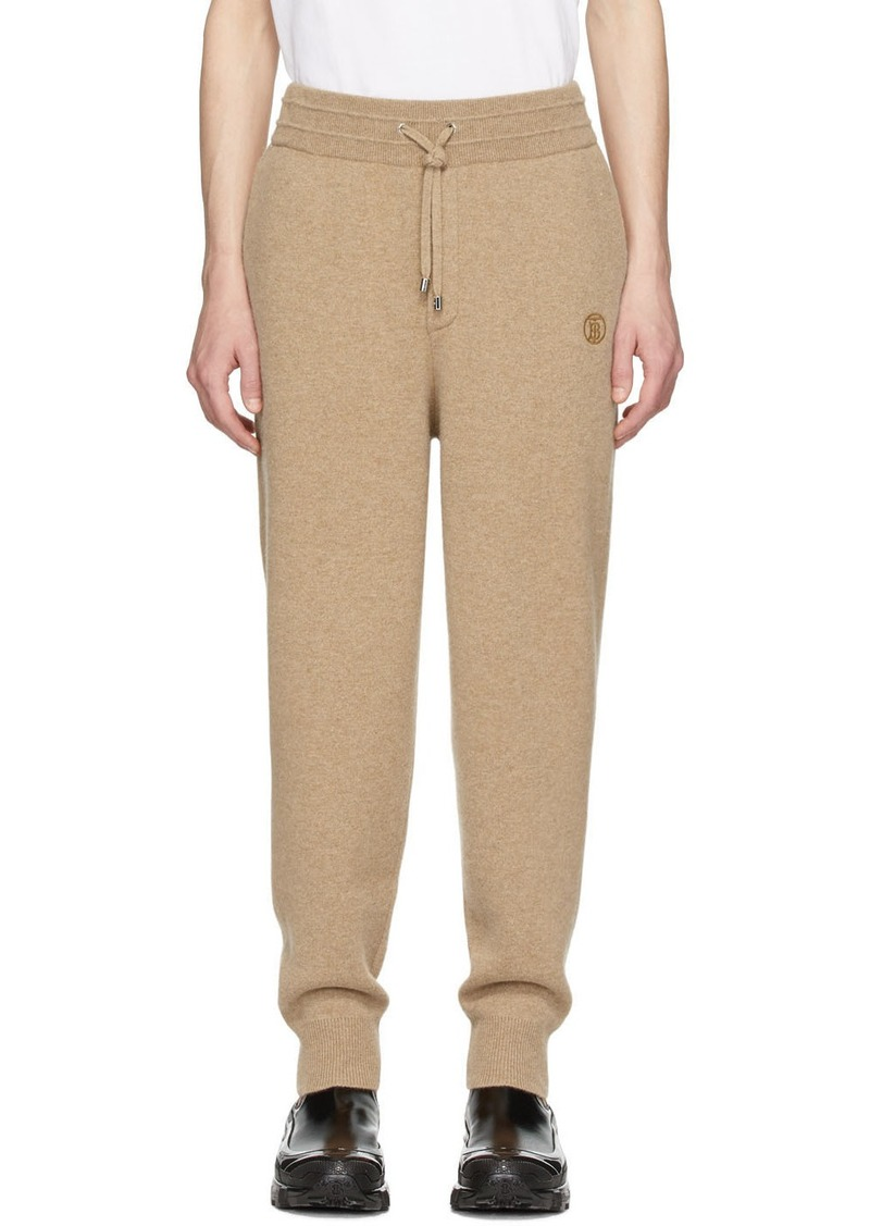 Burberry SSENSE Exclusive Beige Cashmere Huntley Lounge Pants
