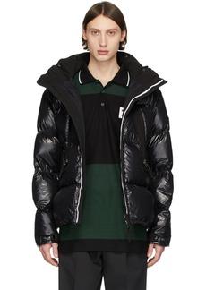 Burberry SSENSE Exclusive Black Desford Puffer Jacket