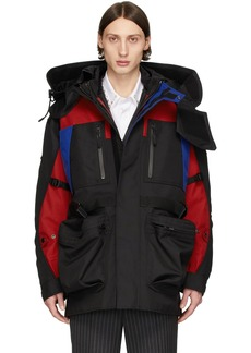 Burberry SSENSE Exclusive Black Down Hertford Coat