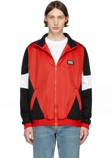 Burberry SSENSE Exclusive Red Astala Track Jacket