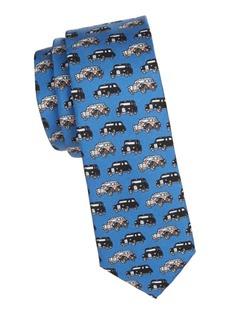 Burberry Stanfield Cars Silk Tie
