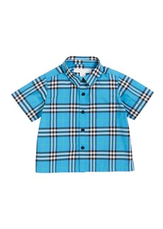 Burberry Steven Check Button-Down Shirt