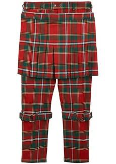 Burberry Stewart Royal tartan trousers