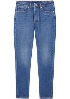 Burberry straight-leg mid-rise jeans