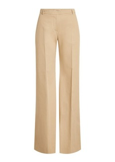 Burberry Straight Leg Cotton Pants