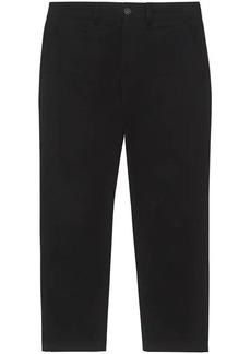 Burberry straight-leg trousers