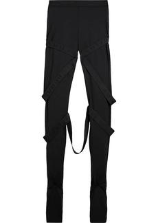 Burberry Strap Detail Jersey Leggings
