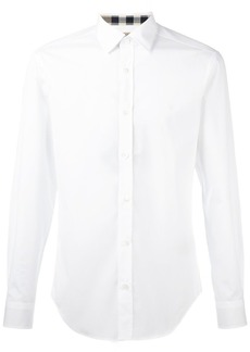 Burberry Stretch Cotton Poplin Shirt