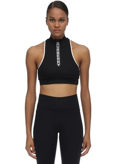 Burberry Stretch Nylon Crop Top