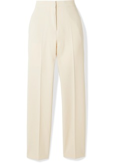 Burberry Stretch-wool Crepe Straight-leg Pants