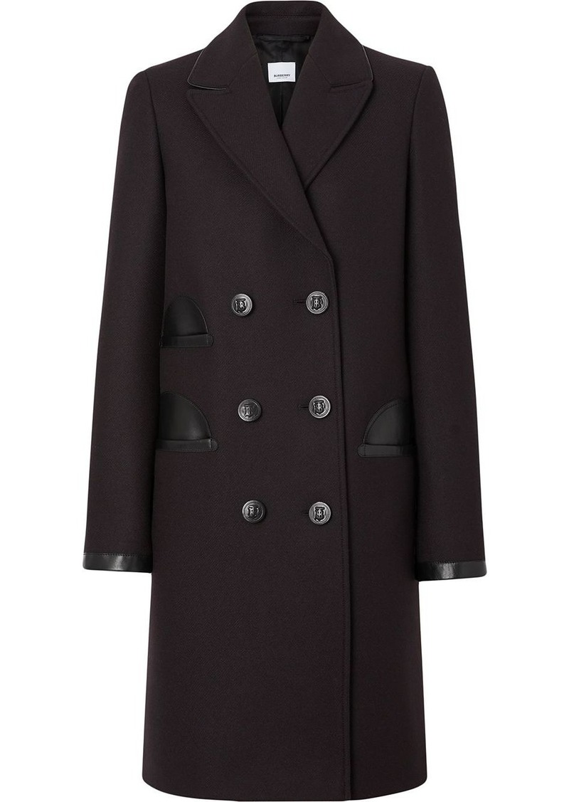 Burberry tailored double-breasted coat