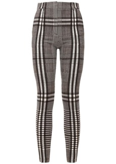 Burberry Tailored Stretch Jersey Straight Pants