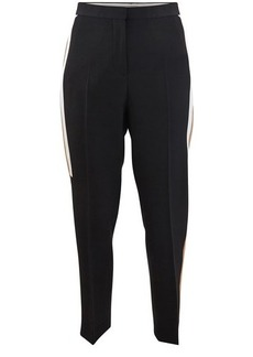 Burberry Tapered trousers with contrast bands