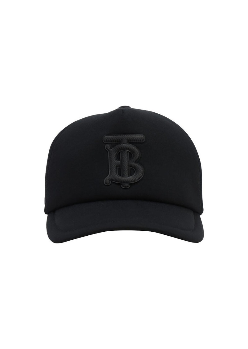 Burberry Tb Embroidery Canvas Baseball Hat