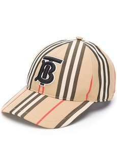 Burberry TB logo embroidered cap