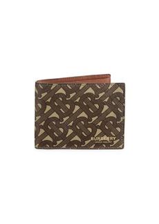 Burberry TB Monogram Bi-Fold Wallet
