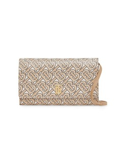 Burberry TB monogram clutch