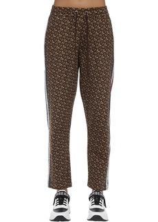 Burberry Tb Monogram Cotton Jersey Sweatpants