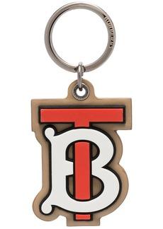 Burberry TB monogram keyring