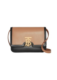 Burberry TB Small Two-Tone Crossbody Bag