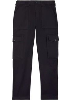 Burberry Technical Cotton Twill Cargo Trousers