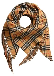The Burberry Bandana in Vintage Check Cashmere