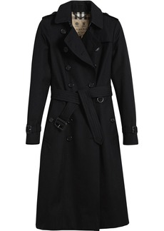 Burberry The Chelsea Extra-long Trench Coat