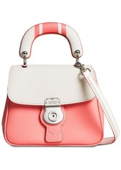 Burberry The Small DK88 Top Handle Bag with Geometric Print