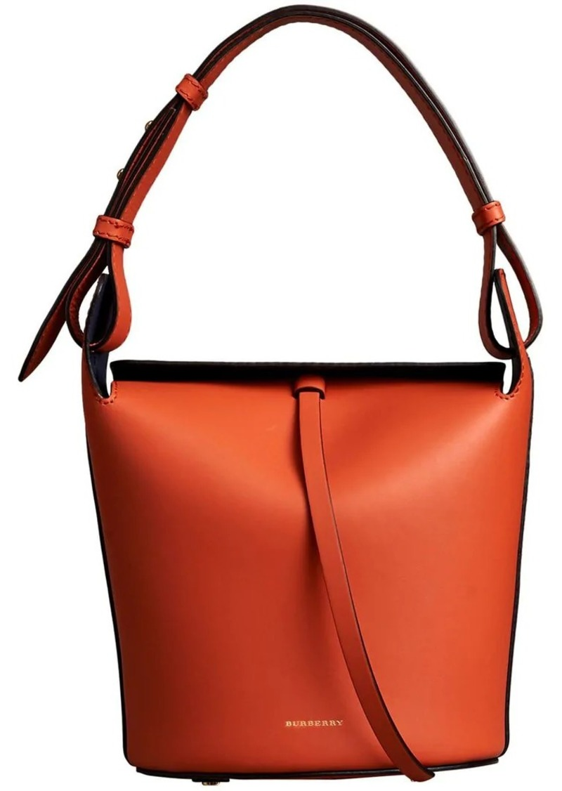 41509696b2f7 Burberry The Small Leather Bucket Bag