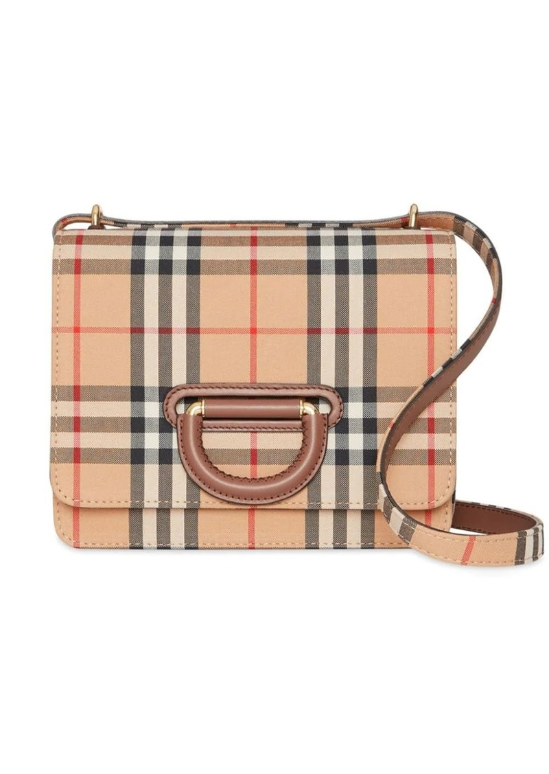 Burberry The Small Vintage Check D-ring Bag
