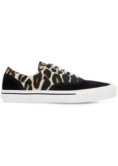 Burberry Tiger Wilson Leather Sneakers