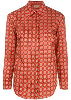 Burberry Tiled Archive print shirt