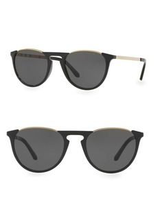Burberry Tinted Round Sunglasses