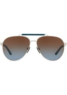 Burberry top bar pilot sunglasses