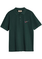Burberry Triple Archive Logo Cotton Piqué Polo Shirt