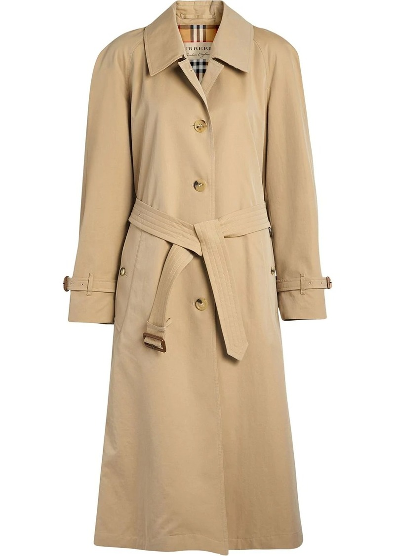 Burberry Tropical side-slit trench coat