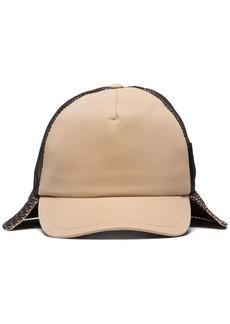Burberry trucker flap hat