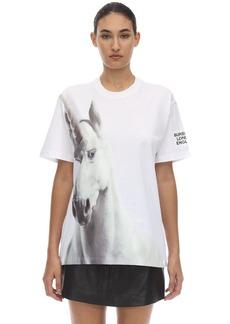 Burberry Unicorn Print Cotton Jersey T-shirt
