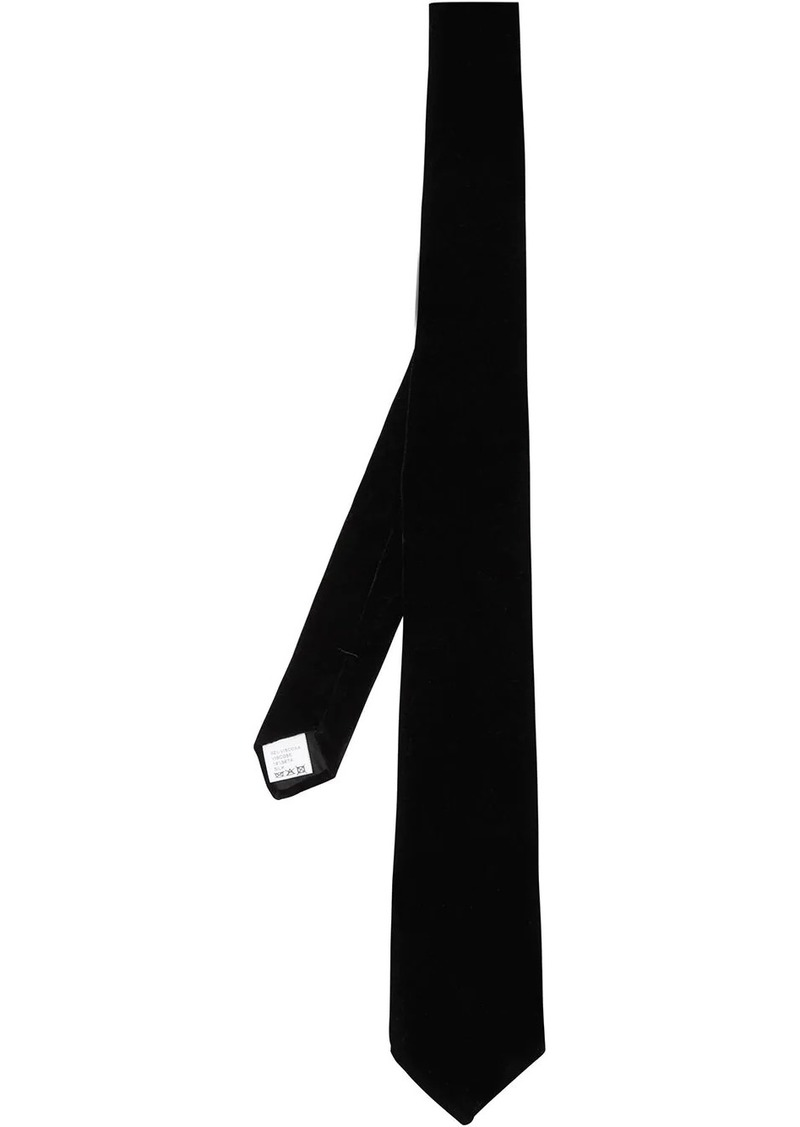 Burberry velvet tie