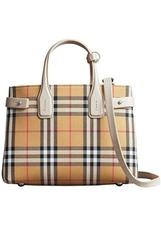 Burberry vintage check Banner bag