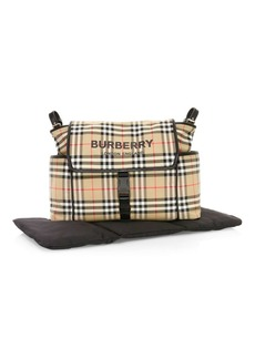Burberry Vintage Check Diaper Bag