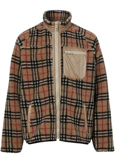 Burberry Vintage Check Fleece Jacket