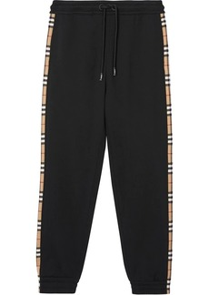 Burberry Vintage Check panelled track pants