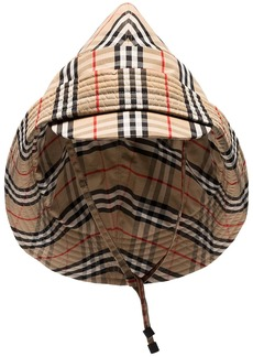 Burberry Vintage Check rain hat