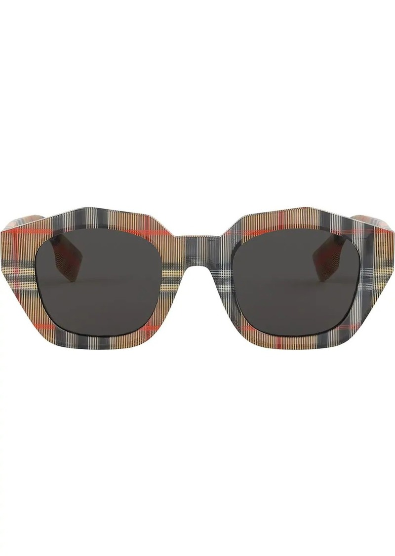Burberry vintage check sunglasses