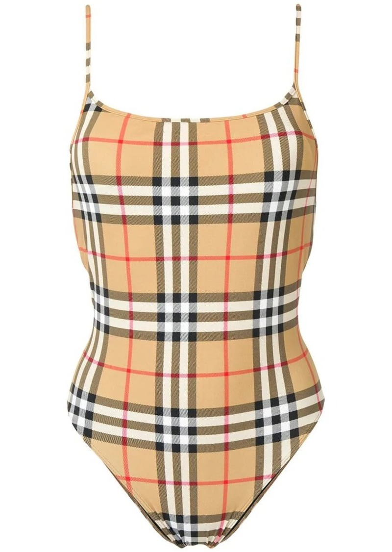 9eed6b07f1c7a Burberry vintage check swimsuit   Swimwear
