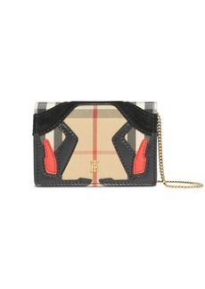 Burberry Vintage check wallet-on-chain